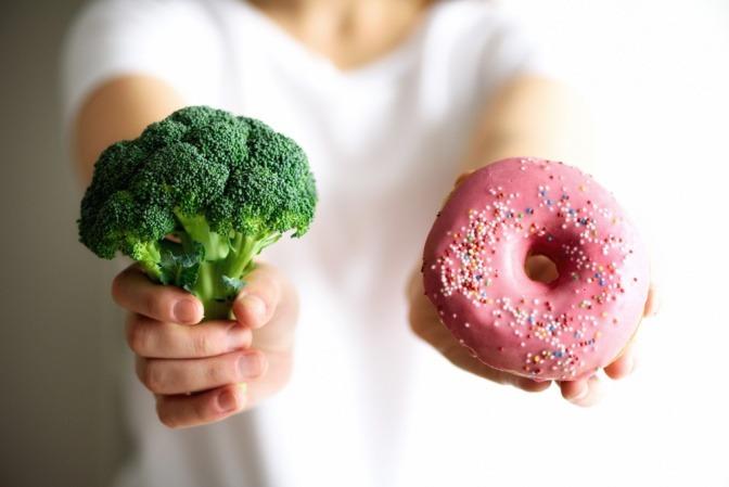 Donut und Brokkoli