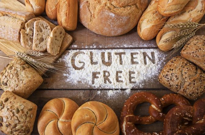 Mit Mehl ist Glutenfrei geschrieben