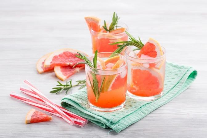 Besondere Wirkung entfaltet Grapefruitsaft