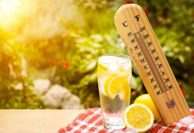 Thermometer mit hoher Temperatur