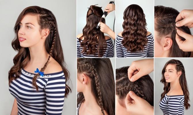 Offene haare frisuren anleitung
