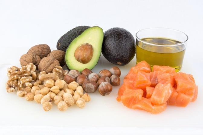 Gesunde Fette in Ölen und Lebensmitteln