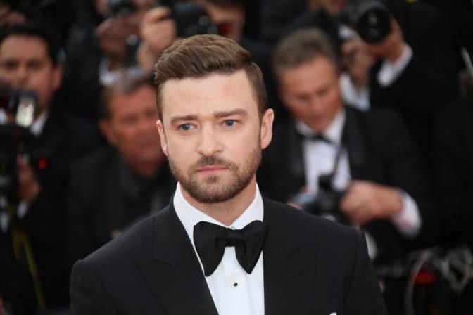 Justin Timberlake trägt eine der Männerfrisuren 2017