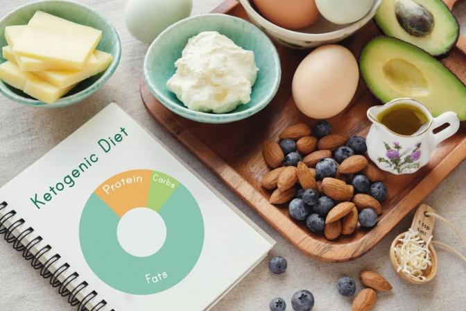 Während einer ketogenen Diät verzichtet man weitgehend auf Kohlenhydrate.