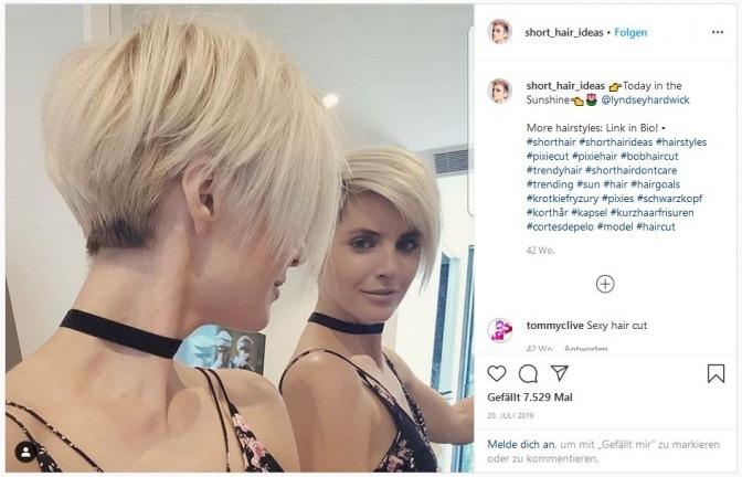 Frauen rundes gesicht sidecut Frisur Fur