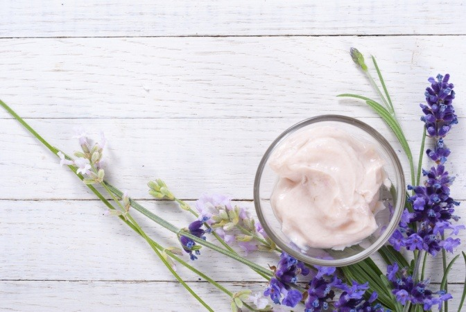Lavendel in der Kosmetik