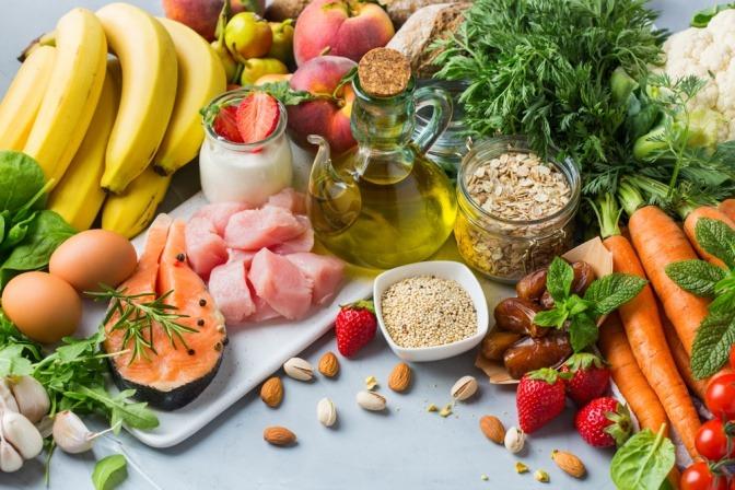 Gesunde Lebensmittel gegen Haarausfall