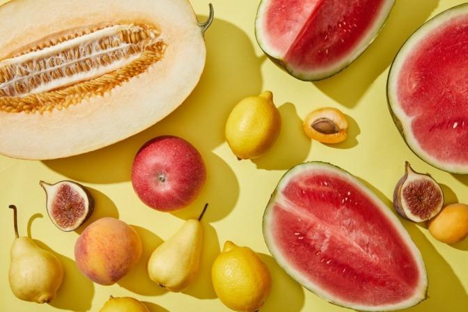 Zitronen, Feigen, Melonen