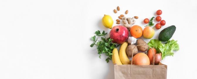 Pflanzliche Lebensmittel für Ernährung bei Myomen
