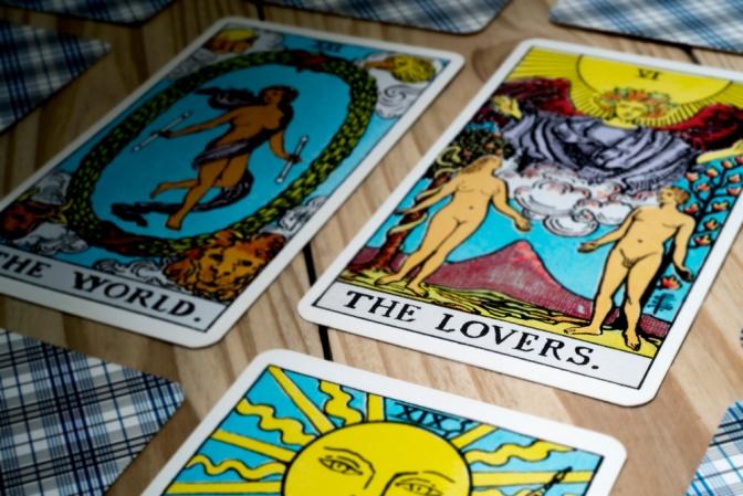 Tarotkarte Lovers