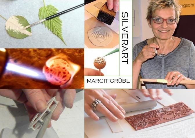 Margit Grübl ist Künstlerin und Schmuckdesignerin