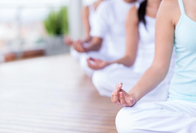 Meditation in der Gruppe