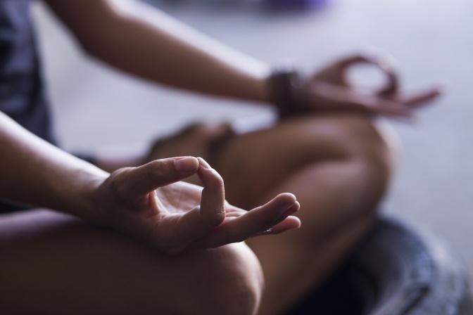 Meditationsübung