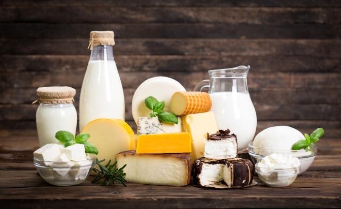 Milchprodukte mit vielen Mineralstoffen