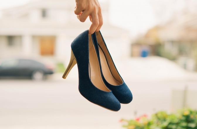 High Heels für kleine Frauen