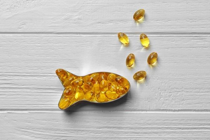 Omega-3-Fettsäure-Kapseln