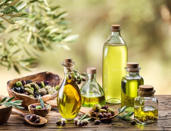 Olivenöl und pflanzliche Öle