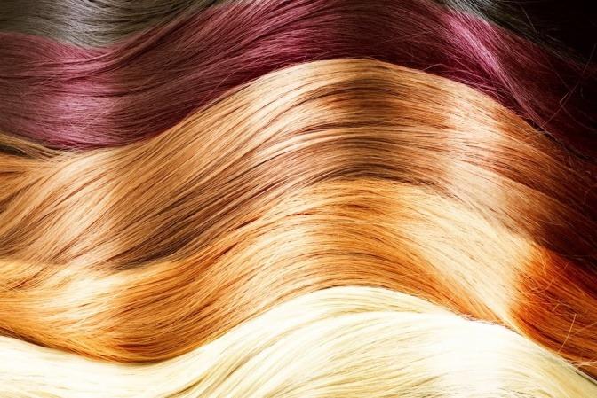 Strähnen braune haare mit roten ▷ 1001+