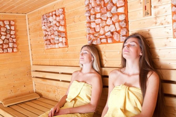 Saunaatmosphäre