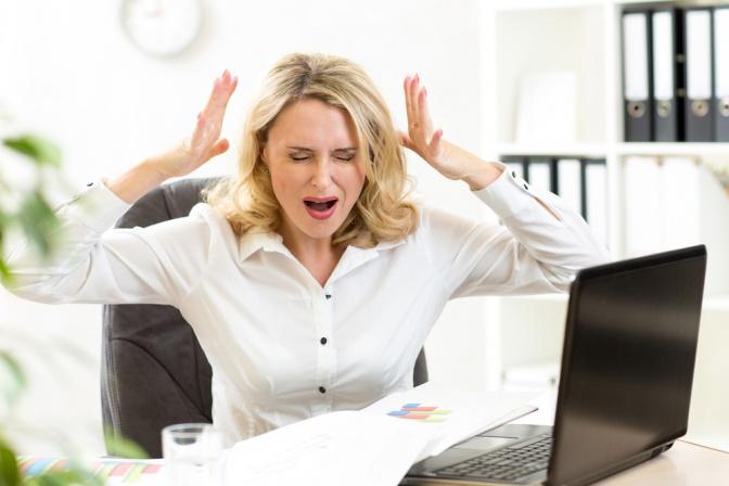 Auch der Stress in der Arbeit ist für viele eine Belastung