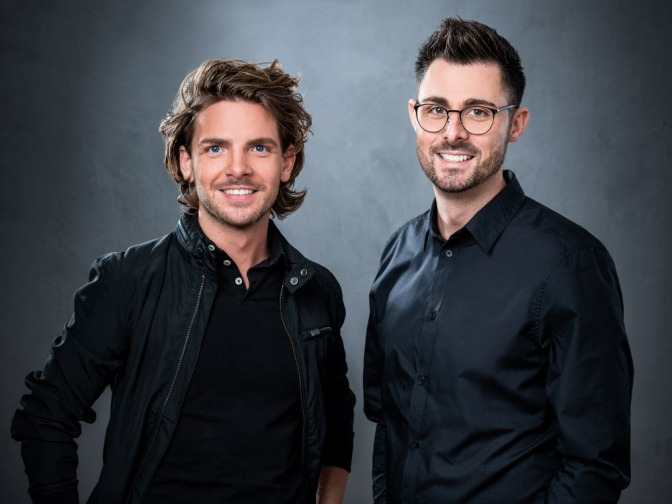 Simon Tanzer und Patrick Tanzer vom Friseursalon Haarschneider im Mostviertel