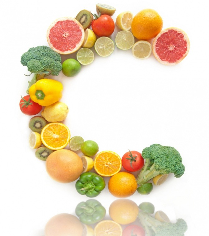 Früchte mit Vitamin C