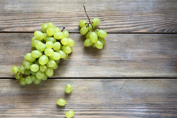 Grüner Weintrauben