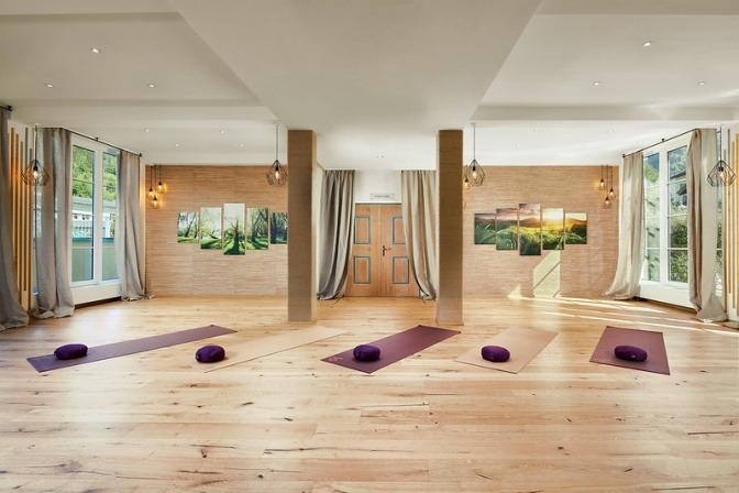 Yogaraum vom Alpenhaus Gasteinertal