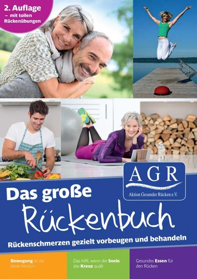 Vorschaubild für Großes AGR-Rückenbuch von der Aktion Gesunder Rücken