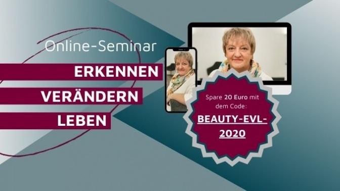 Online-Seminar: Erkennen – Verändern – Leben mit Stefanie Menzel