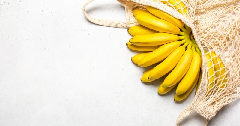 Banane als Lebensmittel gegen Blähungen