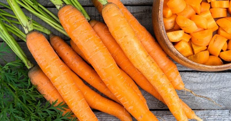 Karotten als Lebensmittel gegen Blähungen