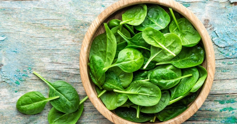 Spinat als Lebensmittel gegen Blähungen