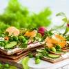 Brote für Ernährung im Frühling sind hergerichtet