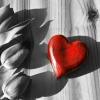 Ein Herz ist zerbrochen