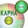 Eine Grafik stellt das Kapha-Dosha dar