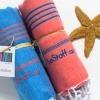 Zusammengerollte Handtücher von LeStoff