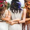 Frauen mit unterschiedlichen Haarfarben