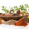 Scharfe Gewürze, Pfeffer, Chili, Ingwer
