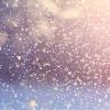 Schneeflocken sehen aus wie Schuppen