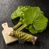 Eine Wasabi Pflanze ist zu sehen