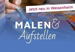 Vorschaubild für Malen und Aufstellen mit Stefanie Menzel