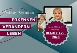 Vorschaubild für Online-Seminar: Erkennen – Verändern – Leben mit Stefanie Menzel