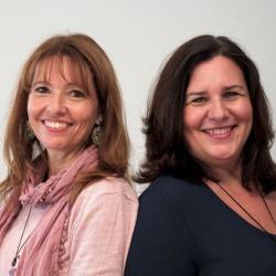 Renate Proske und Eva Buttazzoni von der Energetiker Akademie
